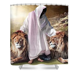 Messiah Israel And Judah Shower Curtain by Bill Stephens