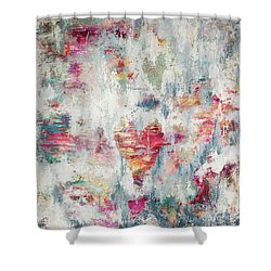 Messy Love Shower Curtain