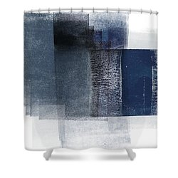 Mestro 2- Abstract Art By Linda Woods Shower Curtain
