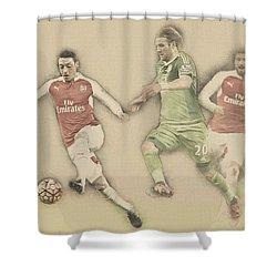 Mesut Ozil Shower Curtain