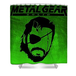 Metal Gear Solid Shower Curtain