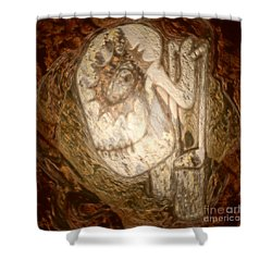 Metallic Ganix Shower Curtain