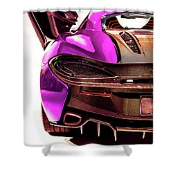 Shower Curtain featuring the photograph Metallic Heartbeat by Karen Wiles