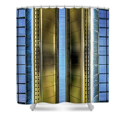 Metallic Shower Curtain by Wim Lanclus
