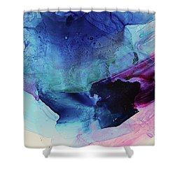 Metamorphic Shower Curtain by Tracy Male