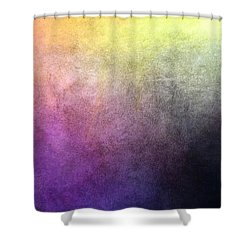 Metaphysics Ll Shower Curtain by Carrie Maurer