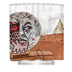 Meteor City Trading Post 11 Shower Curtain