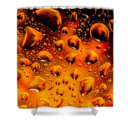 Meteor Diffusion Shower Curtain by Bruce Pritchett