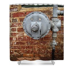 Meter In Athens Ga Shower Curtain by Flavia Westerwelle