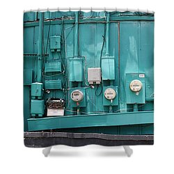 Meter Reader Shower Curtain