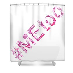 #metoo Me Too Movement Original Prints Fine Art Shower Curtain