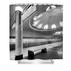 Metro #1591 Shower Curtain by Andrey Godyaykin
