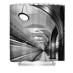 Metro #5147 Shower Curtain by Andrey Godyaykin