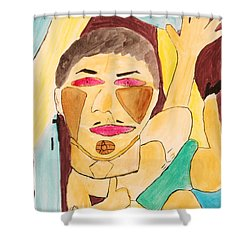 Metro Beauty Shower Curtain