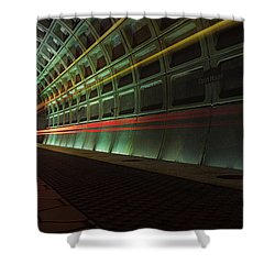 Metro Lights Shower Curtain