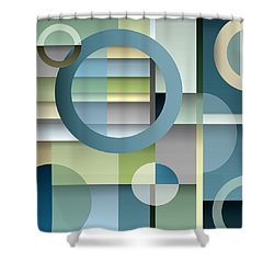 Metro Shower Curtain by Tara Hutton