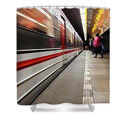 Metroland Shower Curtain