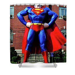 Metropolis - Home Of Superman 001 Shower Curtain
