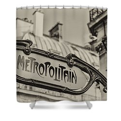 Metropolitain Shower Curtain
