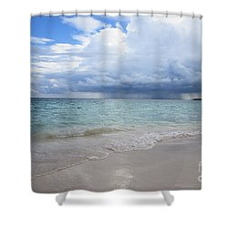 Shower Curtain featuring the photograph Mexican Coast by Yuri Santin
