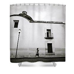 Mexican Twilight Shower Curtain by Shaun Higson