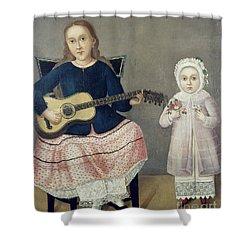 Mexico: Children, C1850 Shower Curtain by Granger