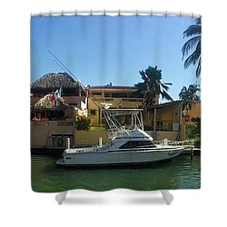 Shower Curtain featuring the photograph Mexico Memories 5 by Victor K