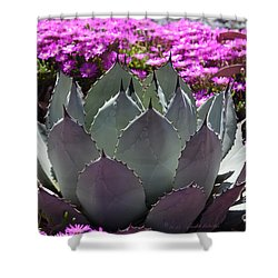 Mezcal Agave In The Garden Shower Curtain