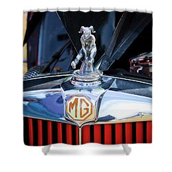 Shower Curtain featuring the photograph Mg Fool by Chris Dutton