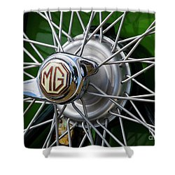 Mg Hub Shower Curtain