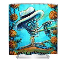Mi Cerveza II Shower Curtain