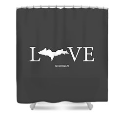 Mi Love Shower Curtain by Nancy Ingersoll