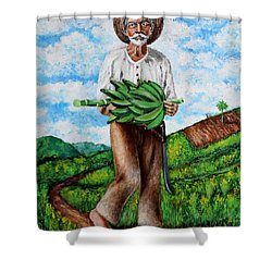 Mi Pan Es Tu Pan... Shower Curtain