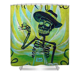 Mi Tequila Shower Curtain