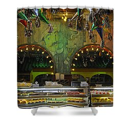 Mi Tierra Shower Curtain