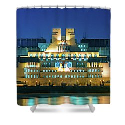 Shower Curtain featuring the photograph Mi6 by Stewart Marsden