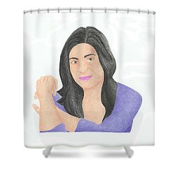 Mia Rose Shower Curtain