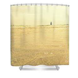 Miami Beach 2 Shower Curtain by France Laliberte