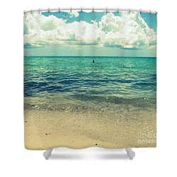 Shower Curtain featuring the photograph Miami Beach 5 by France Laliberte