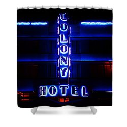 Miami Deco Shower Curtain by Benjamin Yeager