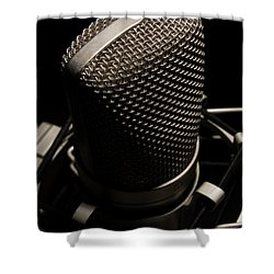 Mic Shower Curtain
