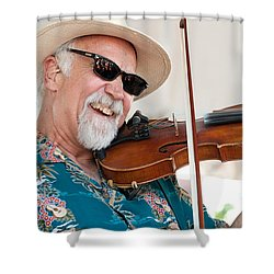 Michael Doucet Shower Curtain