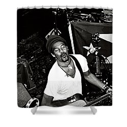 Shower Curtain featuring the photograph Michael Franti Live by John F Tsumas