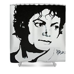 Michael Jackson Shower Curtain