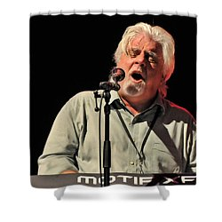 Michael Mcdonald At Tampa Bay Shower Curtain