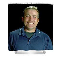 Michael Nicholson Shower Curtain