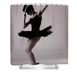Michael On Pointe Shower Curtain