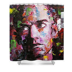 Michael Stipe Shower Curtain