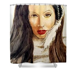 Michal Shower Curtain by G Cuffia