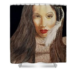 Michal No.2 Shower Curtain by G Cuffia